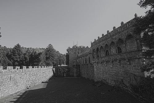 Castillo de Soutomaior.Desaturado