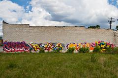 chaos reyes shank msk (ExcuseMySarcasm) Tags: streetart graffiti chaos unitedstates michigan detroit msk reyes shank guerrillaart excusemysarcasm