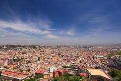 Naples (TorstenDietrich) Tags: italien sky italy house building clouds landscape campania himmel wolke wolken haus bluesky napoli naples landschaft gebude blauerhimmel neapel huser