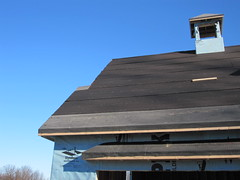 New Roof (ArmchairBuilder.com) Tags: roof newroof iceandwater iceandwatershield rubberflashing rubberunderlayment