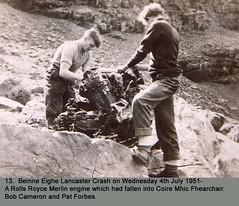 Kinloss 1943 - 1952 0095 (RAFMRA) Tags: lancaster raf kinloss aircraftcrash 19431952