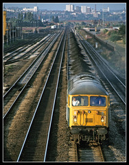 56046 Beeston 24Jul79 (david.hayes77) Tags: nottingham grid beeston freightliner mml class56 56046 bootsbridge