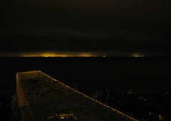 Lights of Northern Ireland (Jani Helle) Tags: night scotland portpatrick dumfriesandgalloway portphdraig september2011