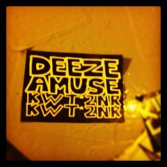 DEEZE x AMUSE (billy craven) Tags: chicago graffiti sticker amuse handstyles kwt slaptag deeze uploaded:by=instagram am126