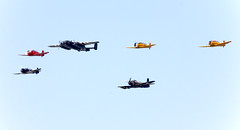 "Formation of one B-25 Mitchell, four Harvards and one A-1 Skyraider (PropWA) Tags: proud canon bc aircraft aviation sandy harvard wwii flight airshow sp american di a1 mitchell douglas bomber 70300mm grumpy vc warbird texan abbotsford snj spad b25 ""the northamerican hff hfm skyraider abbotsfordairshow f456 ad4na 7765 b25d heritageflightmuseum cyxx museumhistoric 126965 flyinghistory n965ad n88972 historicflightfoundation 433318 tamronsp70300mmf456divcusd ""theproudamericangrumpy1269654333187765a1ad4naabbotsfordabbotsford airshowb25b25dbccyxxcanondouglasflying historyhffhfmharvardheritage foundationmitchelln88972n965adnorth americansnjskyraiderspadtamron usdtexanwwiiair showaircraftaviationwarbird""the"