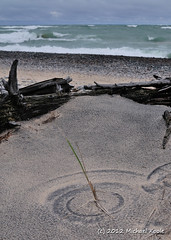 September on Superior (Michael Koole - Vision Three Images) Tags: michael nikon michigan driftwood upperpeninsula lakesuperior d300 dunegrass lucecounty twoheartedriver tamron2875mmf28 koole michaelkoole