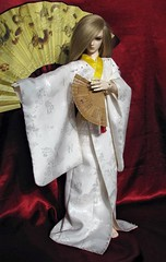 BJD kimono, Haru_01 (Inarisan) Tags: vintage asian japanese doll ooak crafts silk sd geisha kimono bjd superdollfie luts abjd haru balljointeddoll dollclothes bjdkimono