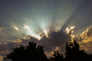 Clouds, Rays & Silhouettes