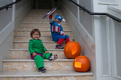 The Avengers (toddkloots) Tags: costumes halloween costume superhero hulk marvel captainamerica avengers thehulk