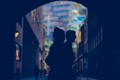 A couple of silhouettes