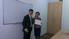 "Uručivanje sertifikata studentima master i doktorskih studija u Kazahstanu <a style=""margin-left:10px; font-size:0.8em;"" href=""https://www.flickr.com/photos/89847229@N08/13904267476/"" target=""_blank"">@flickr</a>"