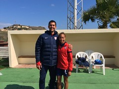 Alan Shahtaji, DO and U18 WNT Defender, Ellie Jean