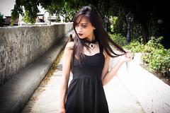 Minxie (photoshoot) (somethingstaketime) Tags: old black nature dark san punk photoshoot fort outdoor philippines goth explore pedro spanish tropical cebu explored