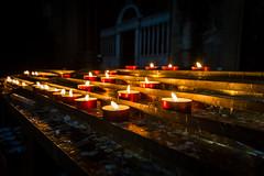 Candles (silwolf) Tags: street city travel light sky urban italy tourism church fire photography casa nikon candles strada italia candle bokeh chiesa cielo bologna lucio citt candele dalla d7100