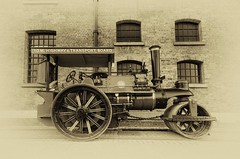 Zulu Road Roller/Traction Engine, Albert Dock, Liverpool (Jeffpmcdonald) Tags: steam 1922 zulu tractionengine roadroller