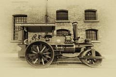Zulu Road Roller/Traction Engine, Albert Dock, Liverpool (Jeffpmcdonald) Tags: steam 1922 zulu tractionengine roadroller