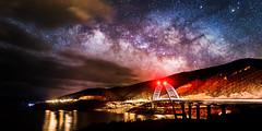 Milky Way Over Roosevelt Lake (John Haggart) Tags: arizona sky lake night stars desert ngc az roosevelt astrophotography astronomy sonoran milkyway