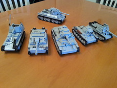Family (italianww2builder) Tags: war lego ww2 custom build tanks panzer t34