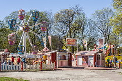Luna Park For Kids (AudioClassic) Tags: park new pink plant tree nature colors kids season cherry outdoors leaf spring flora tallinn estonia branch purple blossom gardening softness lunapark grown freshness springtime elegance newlife