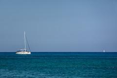 Sailing Boat (kuhnmi) Tags: italien sea italy water boot boat meer italia sailing vehicle sicily simple mediterraneansea segelboot lipari aeolianislands sailingboat sizilien mittelmeer liparischeinseln olischeinseln