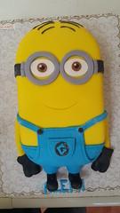 minion cake (Divine Cakes Iloilo) Tags: birthday cakes cake dc cafe divine iloilo roxas fondant bakeshop minion
