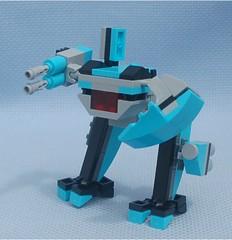 Cyclops Soldier (Mantis.King) Tags: lego cyclops scifi futuristic mecha mech moc microscale mechaton mfz mf0 mobileframezero