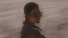 """J154 /365  """"Remember my shine"""" (manon.ternes) Tags: pink sea portrait paris love girl face project photography student friend photographie photos lumire bretagne babes montage 1970 365 fille plage paysages pinup personnes personne lunette beatch purplehair projet parisienne etudiante pinupgirl tudiante parisiens potique 365days 365project projet365"""
