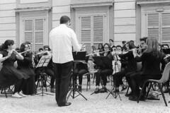 Concert in the park (sirio174 (anche su Lomography)) Tags: park parco como students concert concerto orchestra westsidestory studenti villaolmo