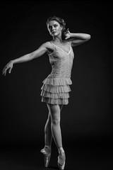 (photo_irina) Tags: portrait blackandwhite bw ballet motion girl beautiful beauty dance model ballerina dancer bnw