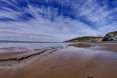 Vision of division (pauldunn52) Tags: heritage wales point temple bay coast sand glamorgan witches