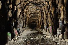 Trans-Continental Railroad Tunnel #8 (J-Fish) Tags: california tunnel granite sierranevada donnerpass transcontinentalrailroad summittunnel d300s 1685mmf3556gvr 1685mmvr