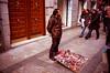 untitled (74 of 96) (Don't Sink) Tags: madrid spain le raval pin salesman panhandler film nikon fg