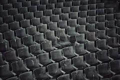 tough audience (Desolate Places) Tags: school auditorium