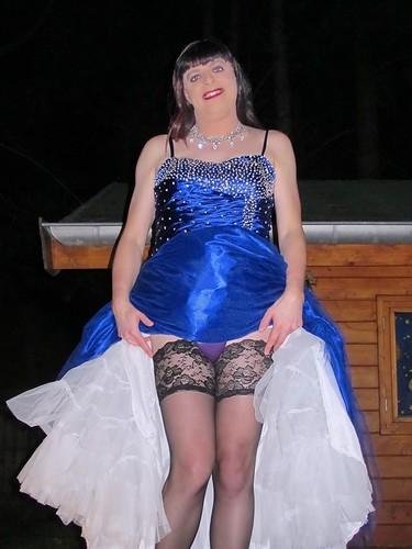Audrey bitoni black dress