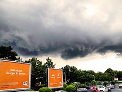 (RenateEurope) Tags: cloud clouds germany advertising cityscape nrw rheinland 2016 weatherphotography iphoneography renateeurope