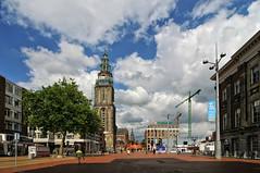Grote Markt | Groningen, the Netherlands (frata60) Tags: city tower church clouds nikon toren wolken wideangle tokina groningen plein centrum 1224mm kerk stad grotemarkt olle luchten martinitoren groothoek grieze d300s