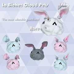 Cloud Pets @ TCH (La Biche SL) Tags: life cute festival clouds 3d heart crystal girly adorable sl kawaii second zbrush gacha gachas