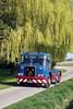 Atkinson MK1 Silver Knight Rear Steer KFL 306G (gylesnikki) Tags: blue lorry artic robinson