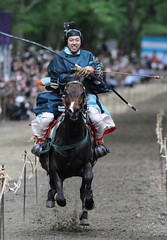 Yabusame (Teruhide Tomori) Tags: horse festival japan kyoto traditional event 京都 日本 馬 yabusame 下鴨神社 shimogamoshrine 流鏑馬神事