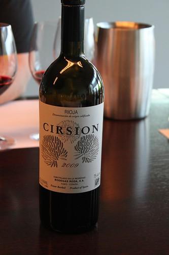 Tasting Cirsion at Roda