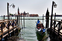 Venice (Artur Staszewski) Tags: old venice sea sky italy canon river boats canal spring italian view scenic sigma sunny tourist panoramic tourists historic clear lanterns historical gondola xs 1770mm