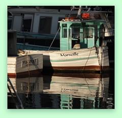 le charme de marseille (laetitiablabla) Tags: france reflection love beautiful port alpes boat marseille reflet coastline cote provence bateau azur rhone vallon littoral bouches auffres