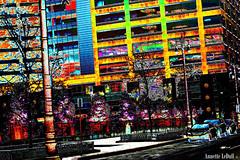 Within the Grid (Annette LeDuff) Tags: street trees color sign buildings pavement sidewalk lamppost vehicle abstraction artshow favorited friendsforever digitallyaltered detroitmi thatslife allwelcome flickrbronzeaward simplywonderful energiapositiva gaveyachills digitaldetroit 3wordcomments screamofthephotographer atouchofmagic amazingamazingamazing hollandgroup worldwidetravelogue internationalphoto artwithoutend luizasfabulousphotoclubflickr sliderssunday arteinitaliaenelmondoartinitalyinworld art2012 nationalgeographic worldwide photoannetteleduff annetteleduff thefouroutlaws imaginesetphantasmata chromophilecrew blinkagainlevel1 12252011 häuserfassadenbuildingfacadecostruirefacciatafaçadedub gaga4arts objetivoexplored hulyaprettygallerie weshootraw vacationsgroup architectureofalltime gruppogirasole buildingsall0verthew0rld lozodiacothezodiac