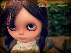 the melancholy girl