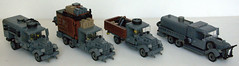 WWII German cars (Kris_Kelvin) Tags: cars truck lego military german soldiers wehrmacht