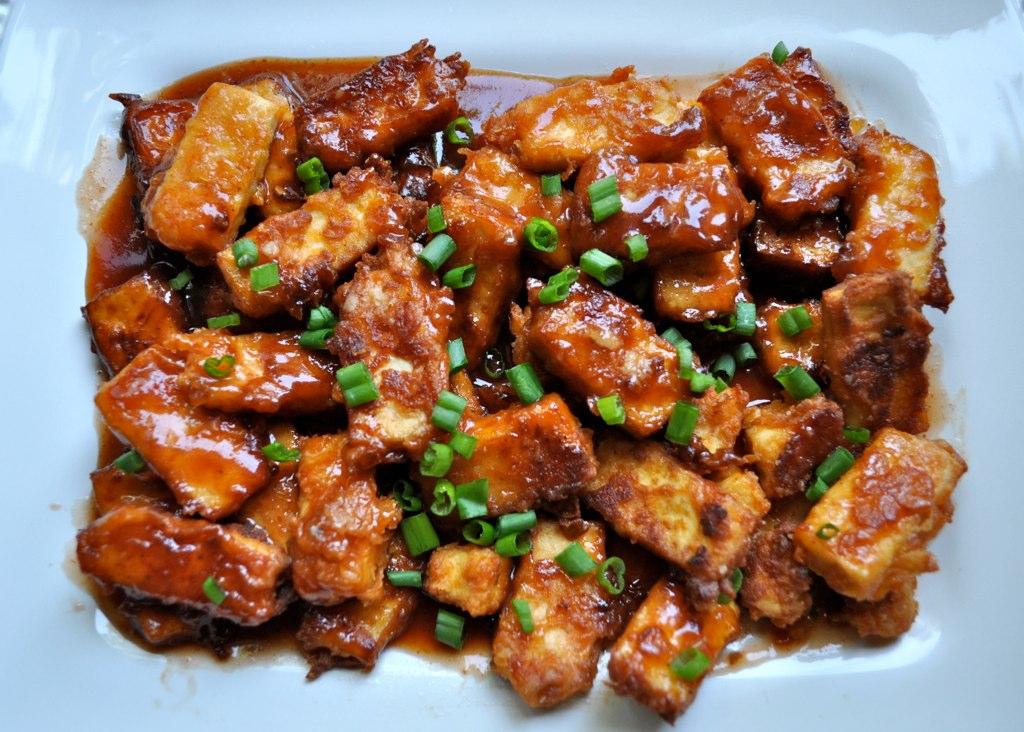Yummy Stuff: Crispy Barbecue Tofu – CrumbBums