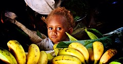 Banana Boy (sPacific details (very limited internet)) Tags: child market bananas solomonislands honiara mygearandme