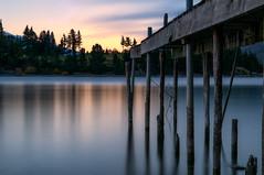 Jetty sunrise - Queenstown (Martin Tyler) Tags: travel newzealand lake sunrise otago queenstown wakatipu