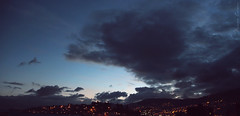 ... 05:37 in Quito (DarlynMeyer) Tags: morning blue sky dawn quito ecuador cielo