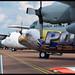 Line-up of C-130 Hercules
